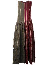 платье макси в полоску Uma Wang