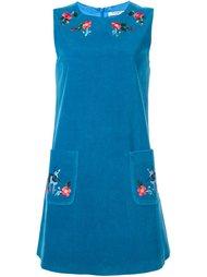 мини-платье с вышивкой Vivetta