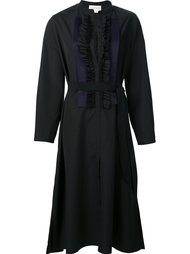 платье с рюшами Maison Rabih Kayrouz