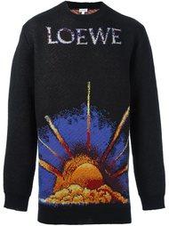 джемпер с изображением восхода Loewe
