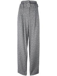 высокие брюки с поясом Erika Cavallini