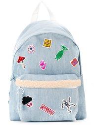 джинсовый рюкзак с нашивками Joshua Sanders