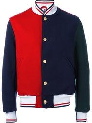 куртка-бомбер колор-блок  Thom Browne