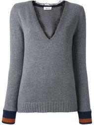 свитер c V-образным вырезом   Aviù