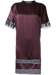 платье-футболка с кружевными вставками Givenchy