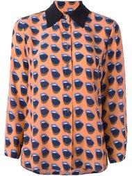 рубашка с принтом губ Odeeh