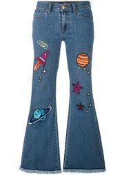 расклешенные джинсы 'HoH x Lee Collaboration'  House Of Holland