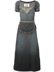 джинсовое платье с передником Walter Van Beirendonck Vintage