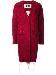 пальто-кокон с необработанными краями Uma Wang