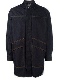 джинсовая рубашка 'Lee' свободного кроя  House Of Holland