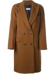 двубортное пальто Alberto Biani
