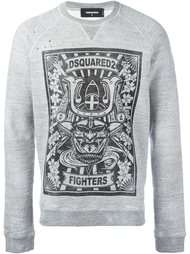 толстовка 'Fighters' Dsquared2