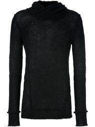 пуловер с длинными рукавами и отворотной горловиной Masnada