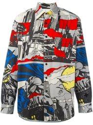 рубашка с принтом 'Batman' Jc De Castelbajac Vintage