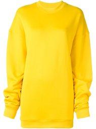 удлиненный пуловер с круглым вырезом Marques'almeida