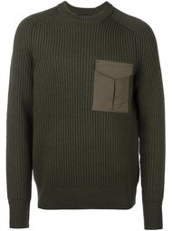 свитер с карманом  Rag & Bone