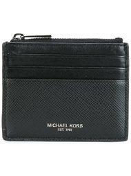 плоский кошелек для карт с молнией Michael Kors