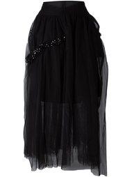 многослойная юбка Simone Rocha