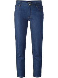 укороченные джинсы кроя слим A.P.C.
