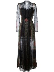 платье 'Long Patch Lace'  Etro