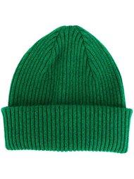 шапка-бини с отделкой в рубчик Paul Smith