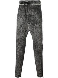 спортивные брюки с вышивкой 11 By Boris Bidjan Saberi