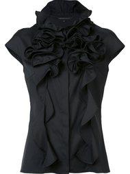 блузка с оборками Walter Voulaz