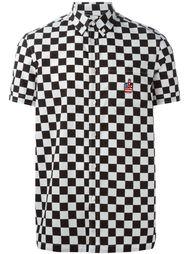 рубашка в клетку Love Moschino