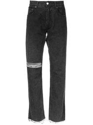 джинсы с рваными деталями Alyx