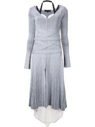 платье с V-образным вырезом Proenza Schouler