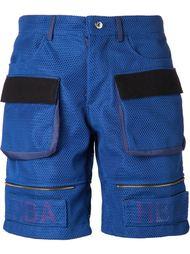 сетчатые шорты с накладными карманами Hood By Air