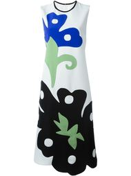 платье с аппликацией  Victoria Victoria Beckham