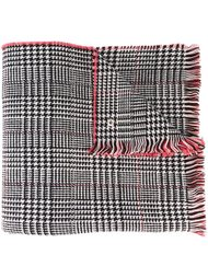 шарф с узором в ломаную клетку Twin-Set