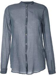 рубашка с узором  Massimo Alba