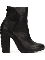 ботинки со шнуровкой на каблуке Vic Matie
