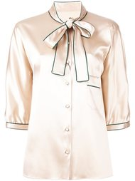рубашка с завязками на бант Dolce & Gabbana