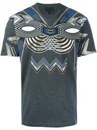 футболка с аппликацией металлик Les Hommes