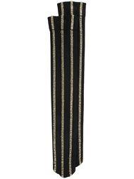 носки в полоску с эффектом металлик Uma Wang