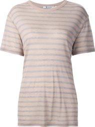 футболка в полоску T By Alexander Wang