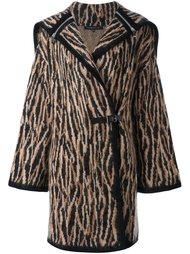 трикотажное пальто с капюшоном Barbara Bui