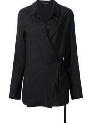 блузка с запахом Ann Demeulemeester