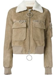укороченная куртка-бомбер  Off-White