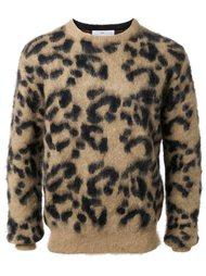 жаккардовый пуловер с леопардовым узором Toga