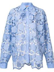 кружевная рубашка с длинными рукавами Nº21