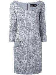 платье с узором Cristiano Burani
