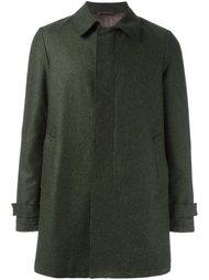 пальто с потайной застежкой на кнопки Herno