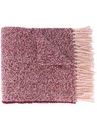 шарф с цветочной брошью Twin-Set