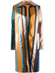 полосатое пальто Cristiano Burani