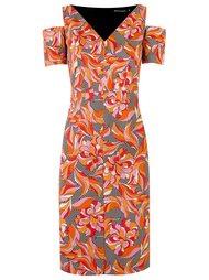 платье с цветочным принтом Reinaldo Lourenço