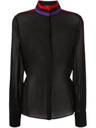 прозрачная блузка Capucci